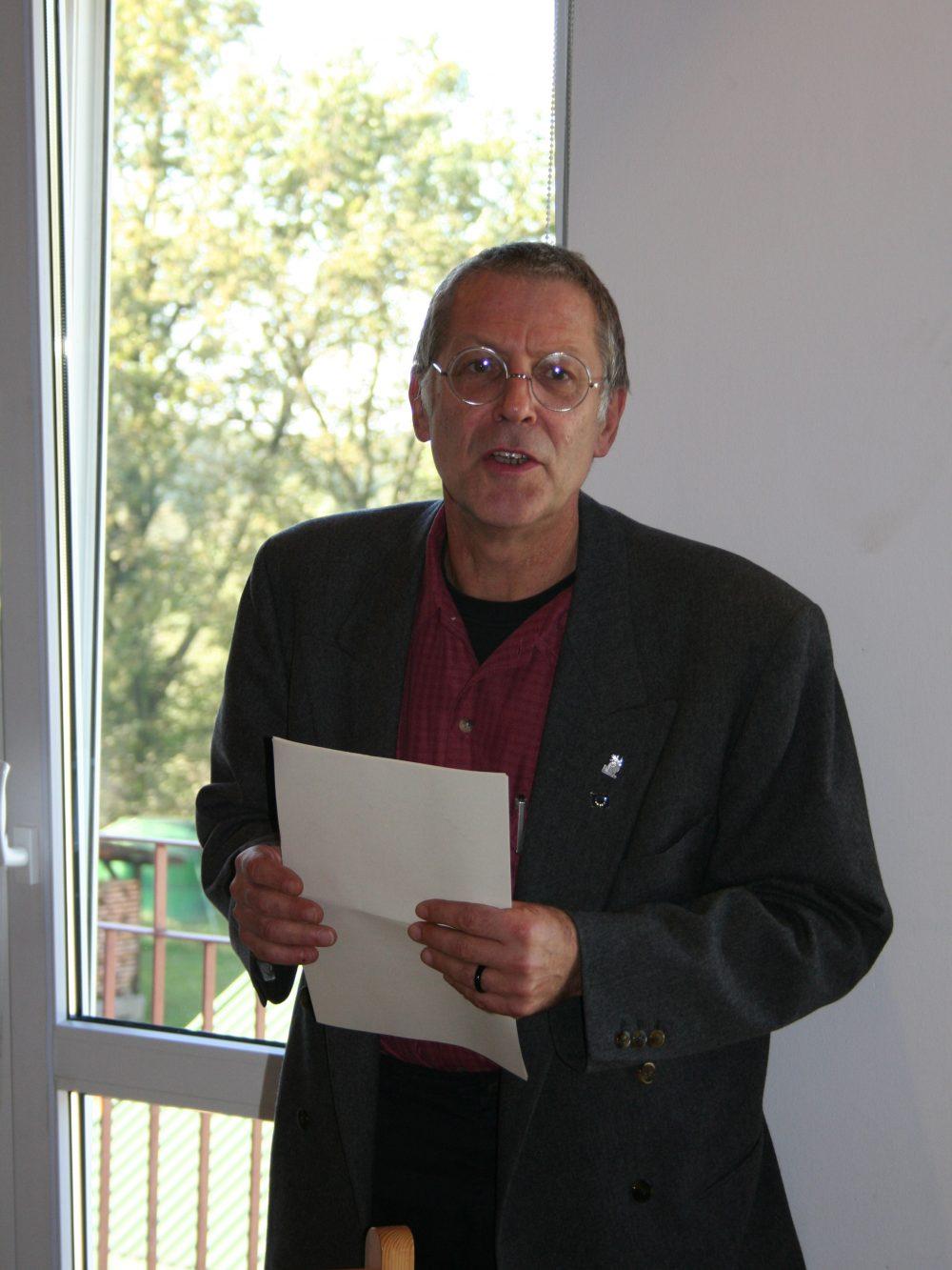 Willi Does – odpowiedzialny wspólnoty z Kolonii,  obecnie Prezydent Emmaus Europe