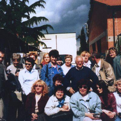 Spotkanie partnerów ze Środkowo-wschodniej Europy z grupami zachodnimi w Faenza (Włochy – 1999 rok)
